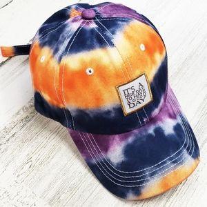 Trendy Tie Dye Baseball Cap Hat 🎈FREE SHIPPING🎈